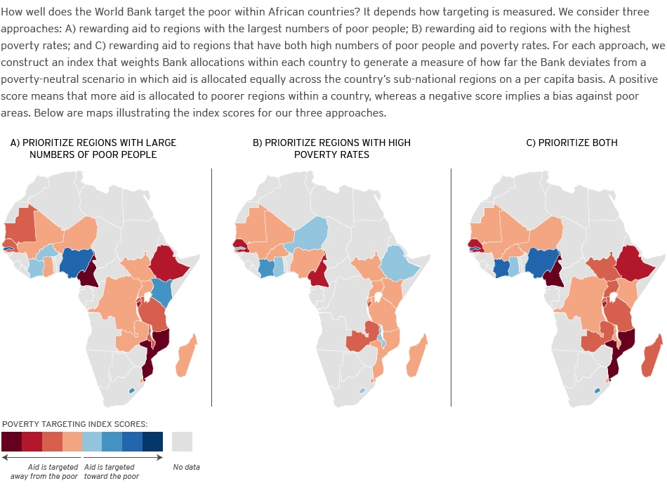 How Effective Is The World Bank At Targeting SubNational Poverty - Global poverty map