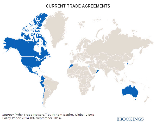 Why Trade Matters In Four Maps - Us economy world trading map
