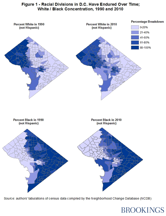 segregation and concentrated poverty in the nation s capital