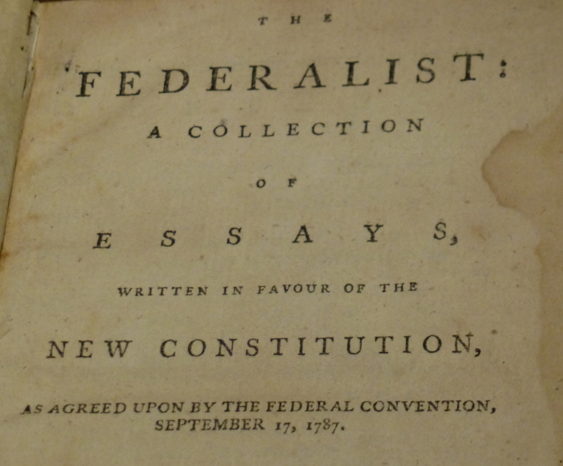 Essay Structuring Reading The Federalist In The St Century Federalist Vs Anti  Essay On Qualities Of A Good Leader also What Is An Extended Definition Essay Federalist Essay Reading The Federalist In The St Century Federalist  Essay On Healthy Living