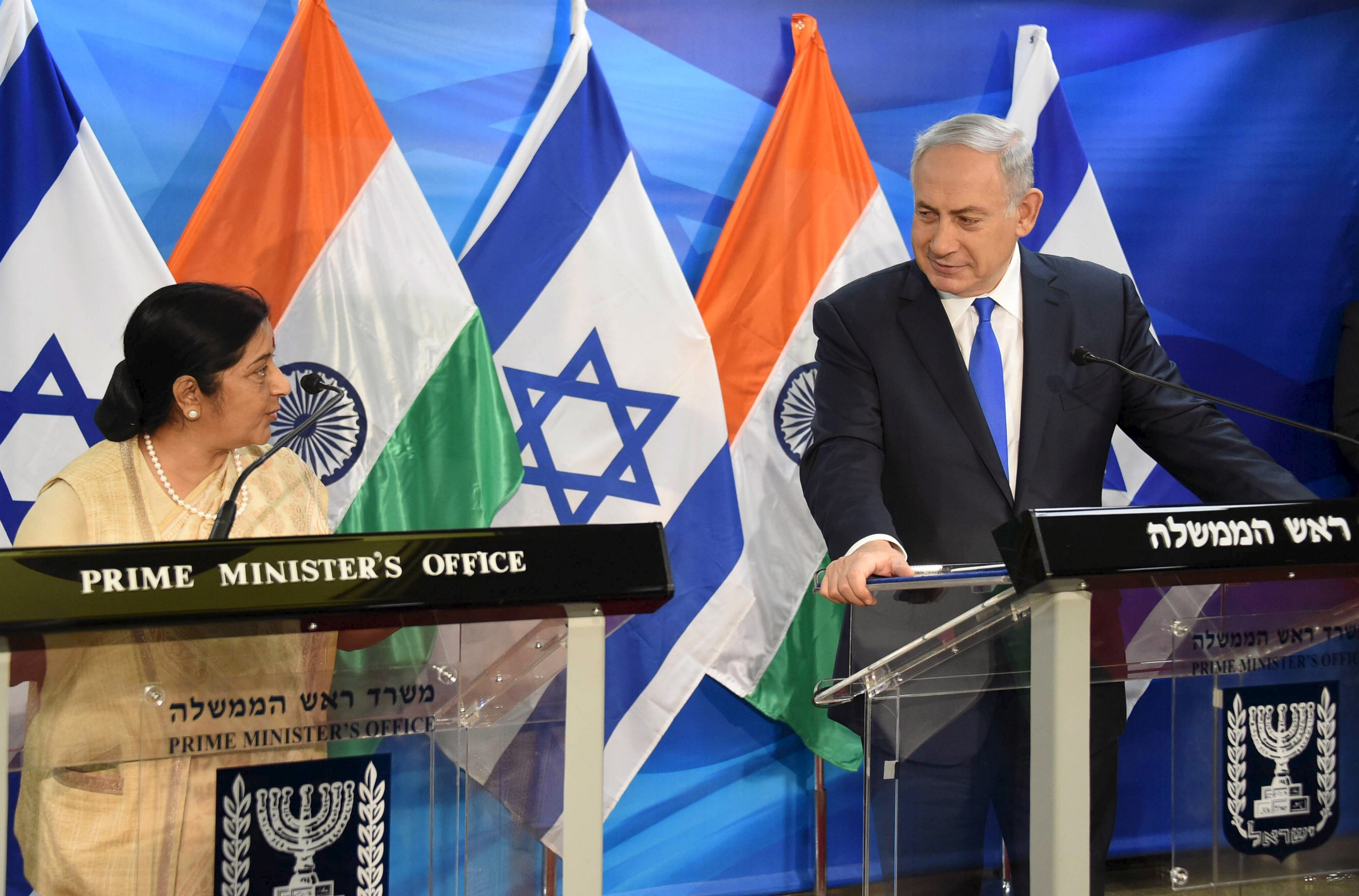 """Why India and Israel are bringing their relationship out from """"under"""