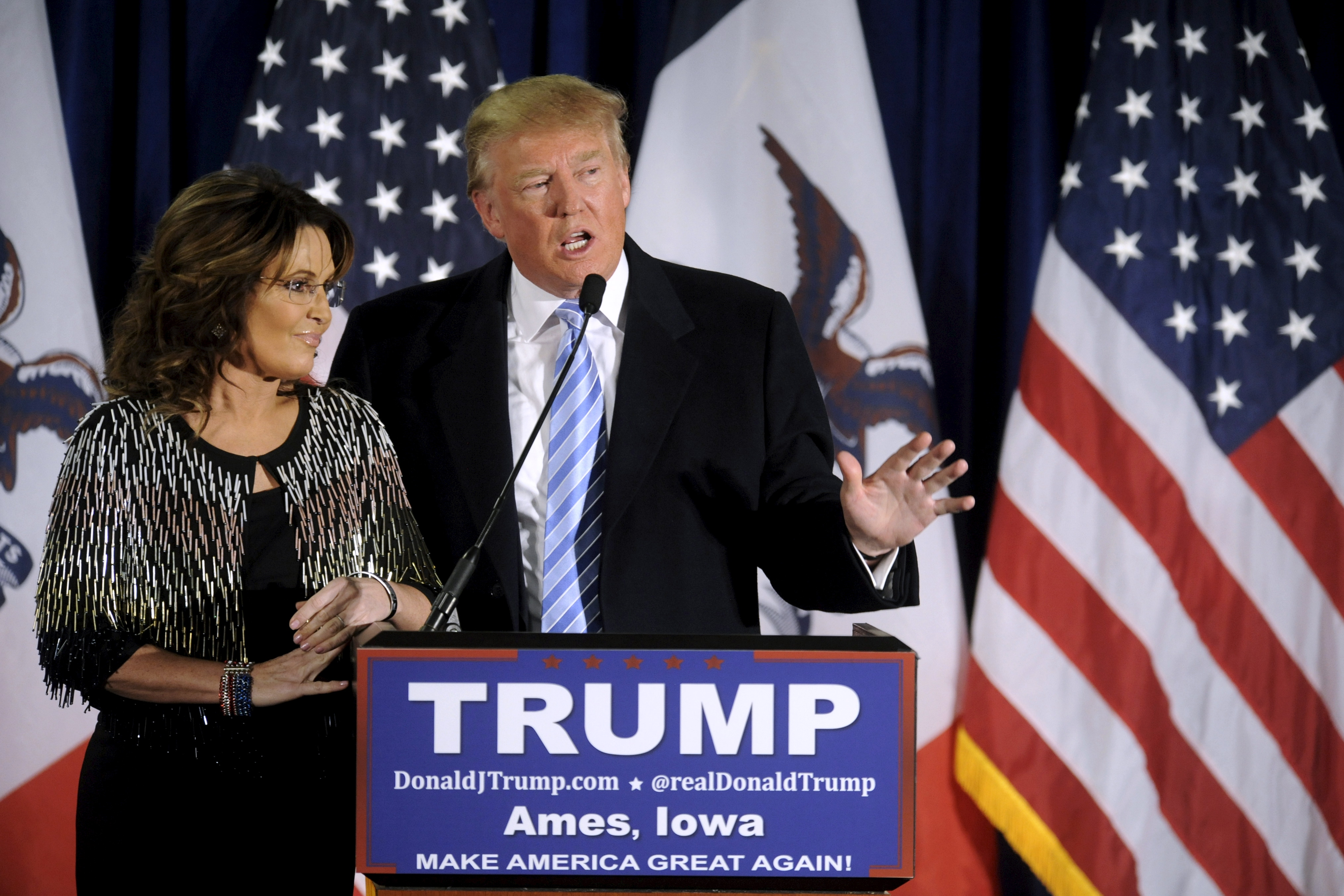 Trump Cabinet auditions: Progressive Energy Secretary Sarah Palin?