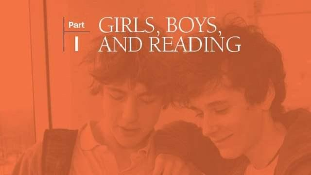 Girls, boys, and reading