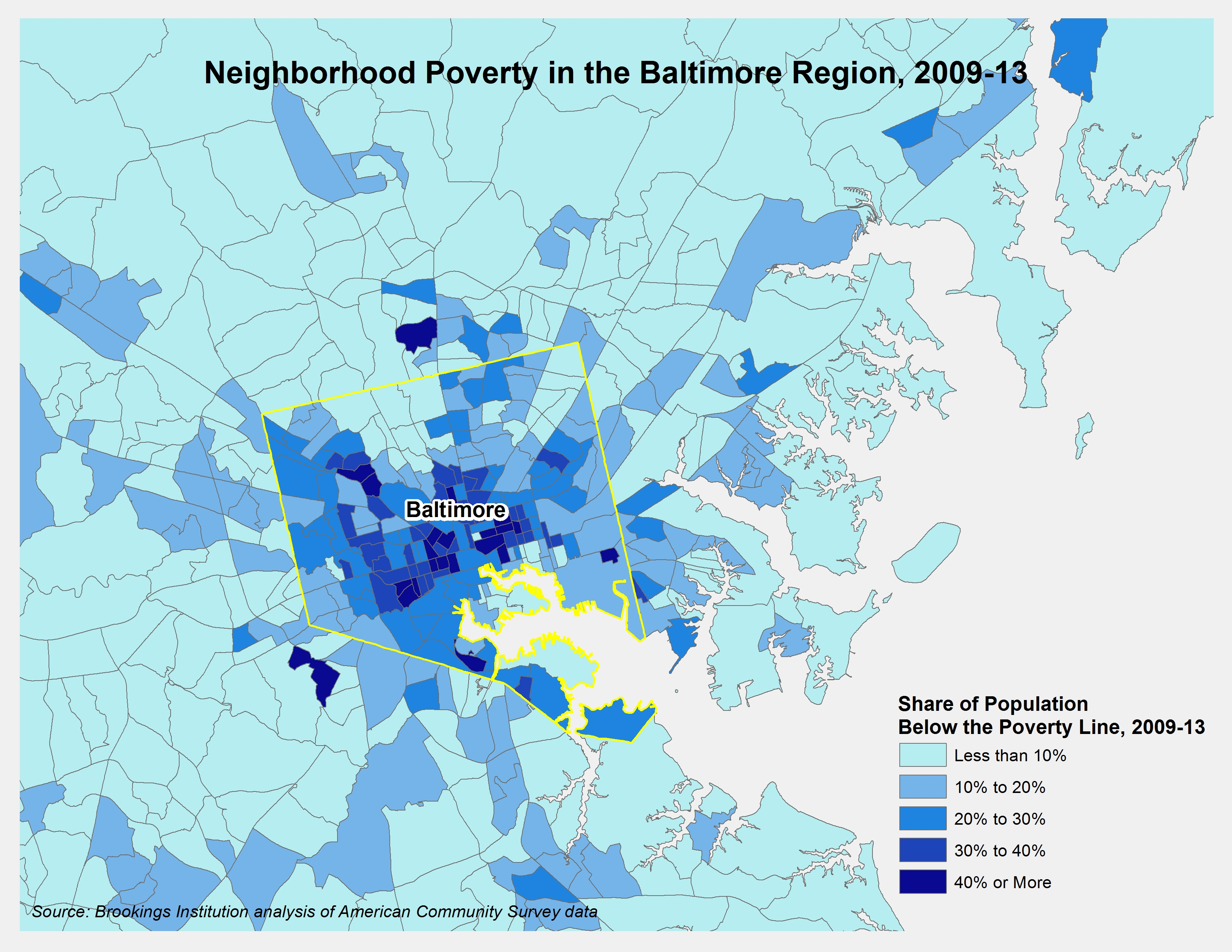 Beyond Baltimore: Thoughts on place, race, and opportunity
