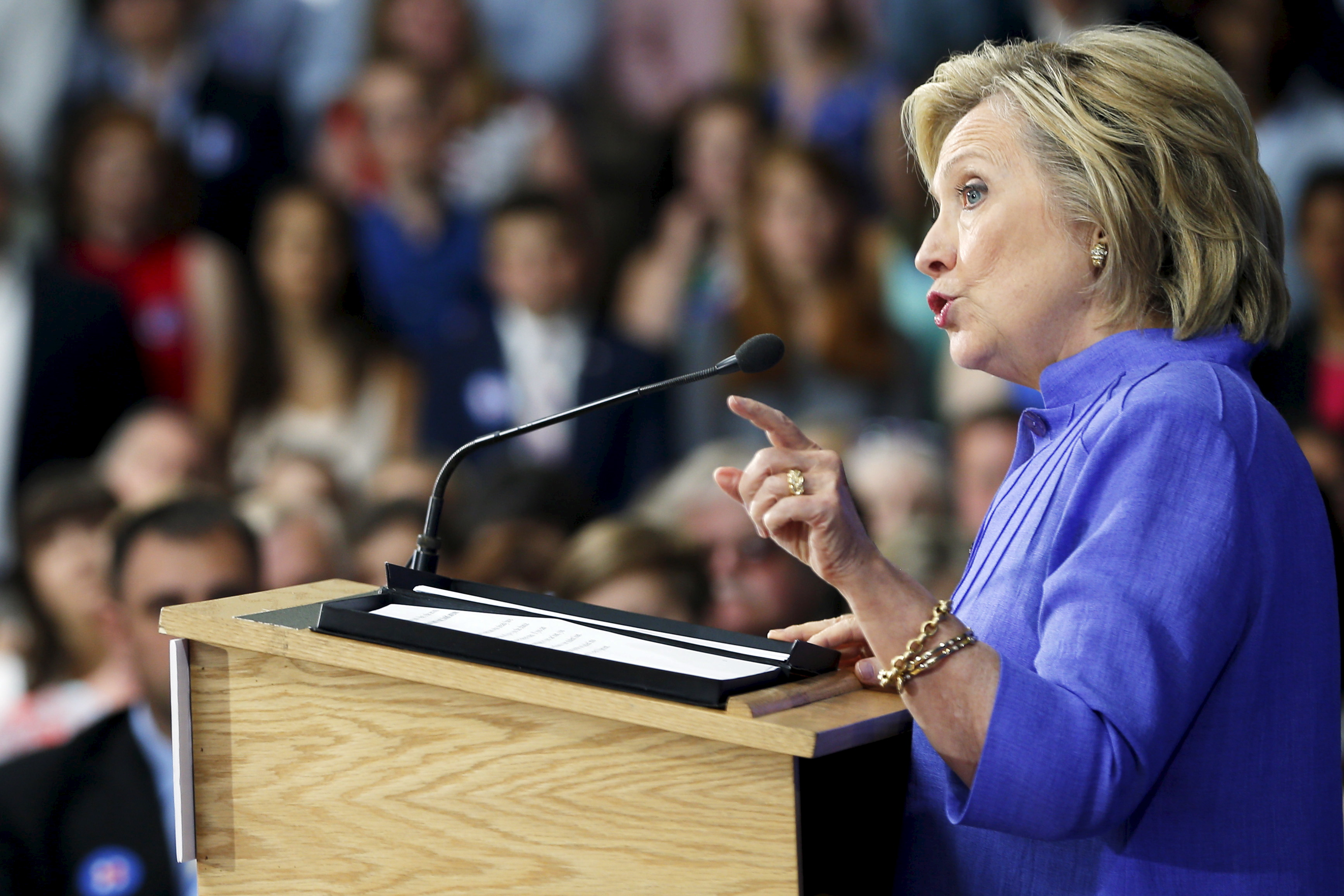 an analysis of hillary clintons speech essay Hillary clinton's concession speech: and hillary clinton got to it hillary follow to get the latest news and analysis about the players in your inbox see.
