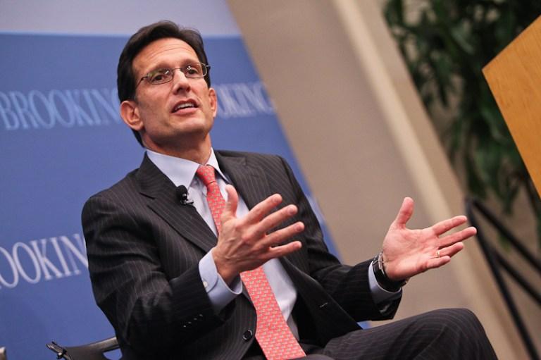 U.S. House Majority Leader Eric Cantor