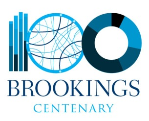 Brookings Centenary logo