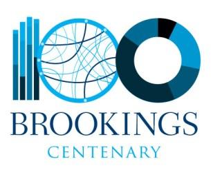 Brookings Centenary logo
