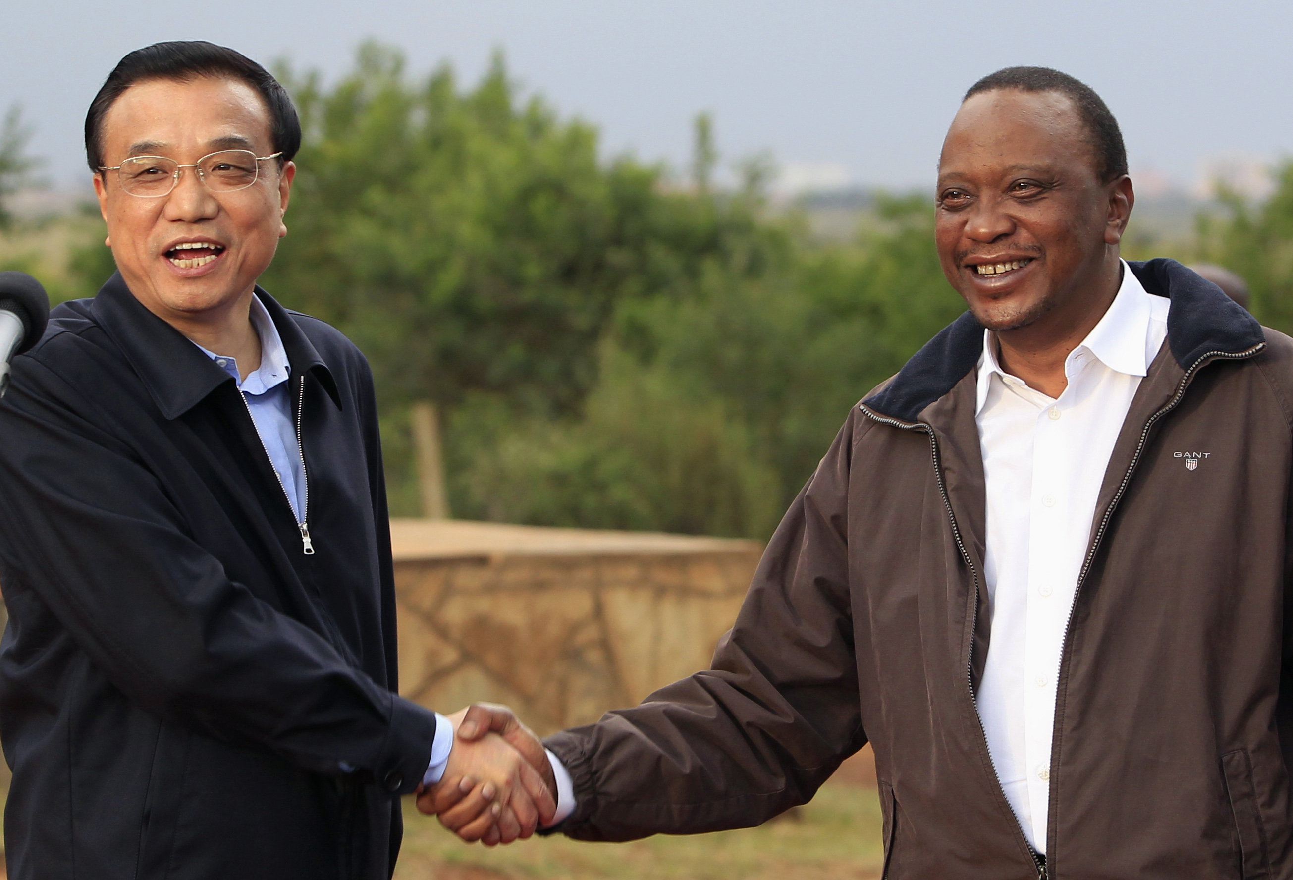 china africa relations Lu xinsheng says ivory smuggling and selling counterfeit goods hurts chinese reputation in african countries.