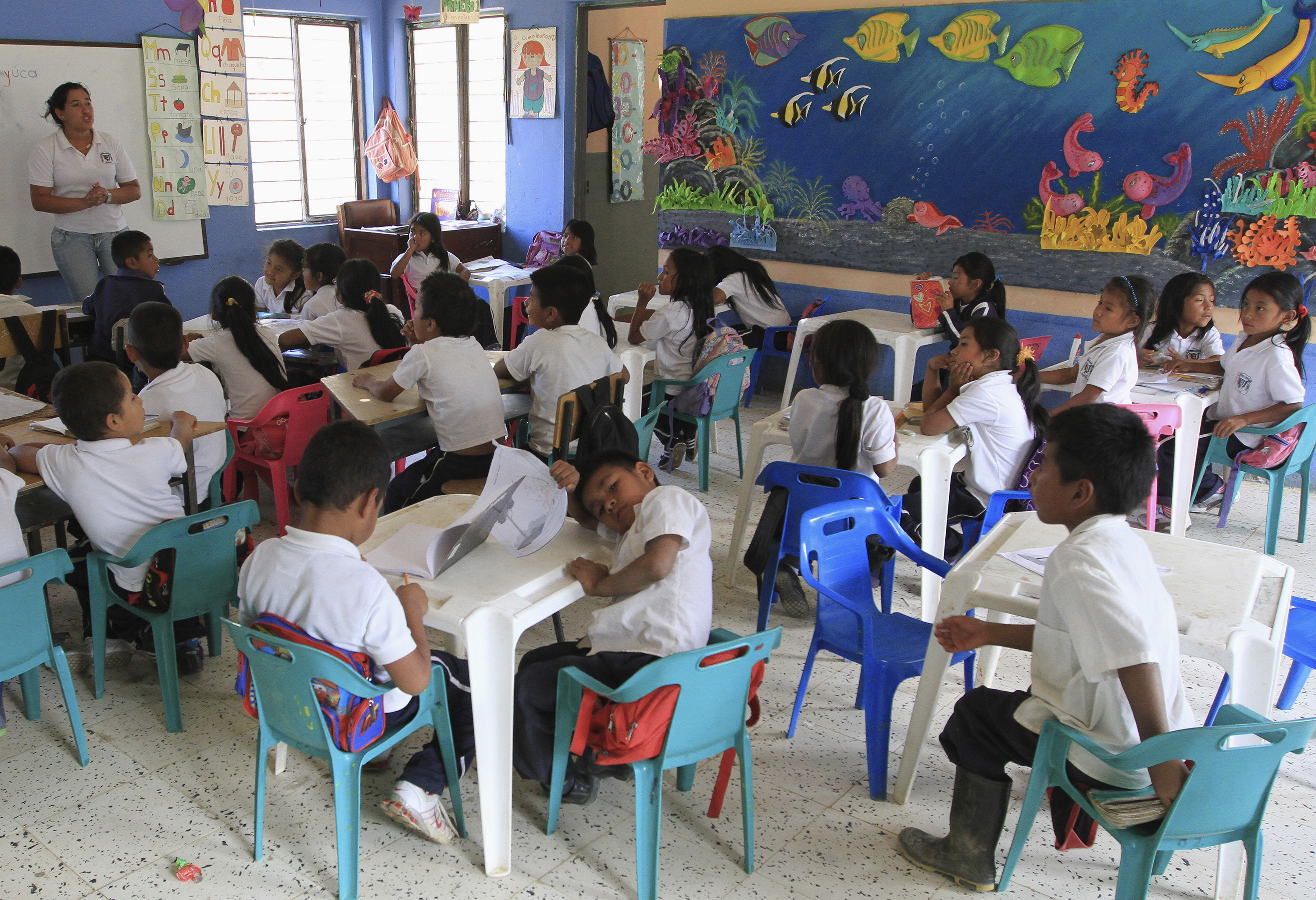 Colombia's education disaster: teachers and students now ... |Colombian Schools