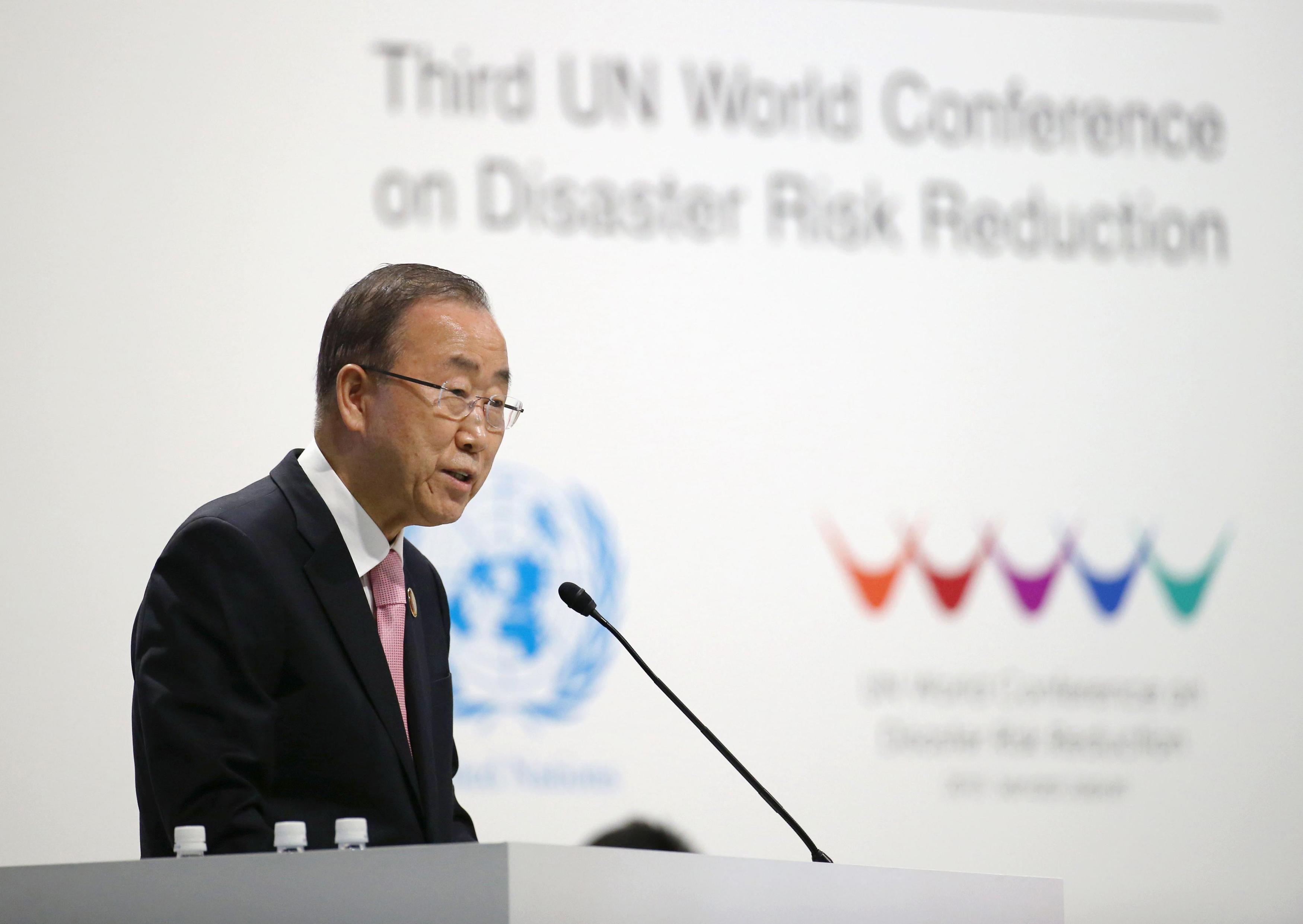 Ban ki moon avfardar kritiken