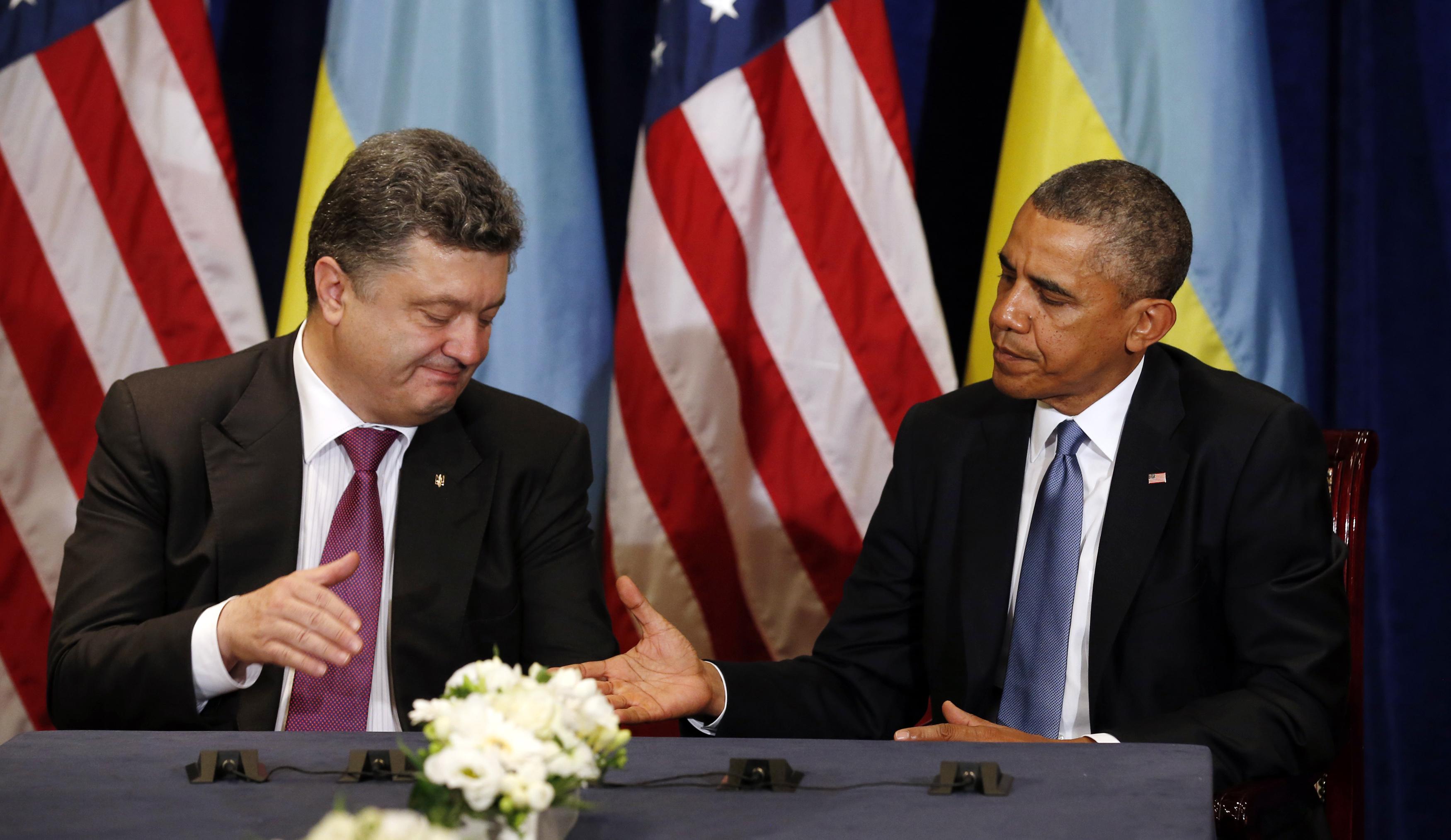 Model applied to british media coverage of iran nuclear deal - Poroshenko_obama001