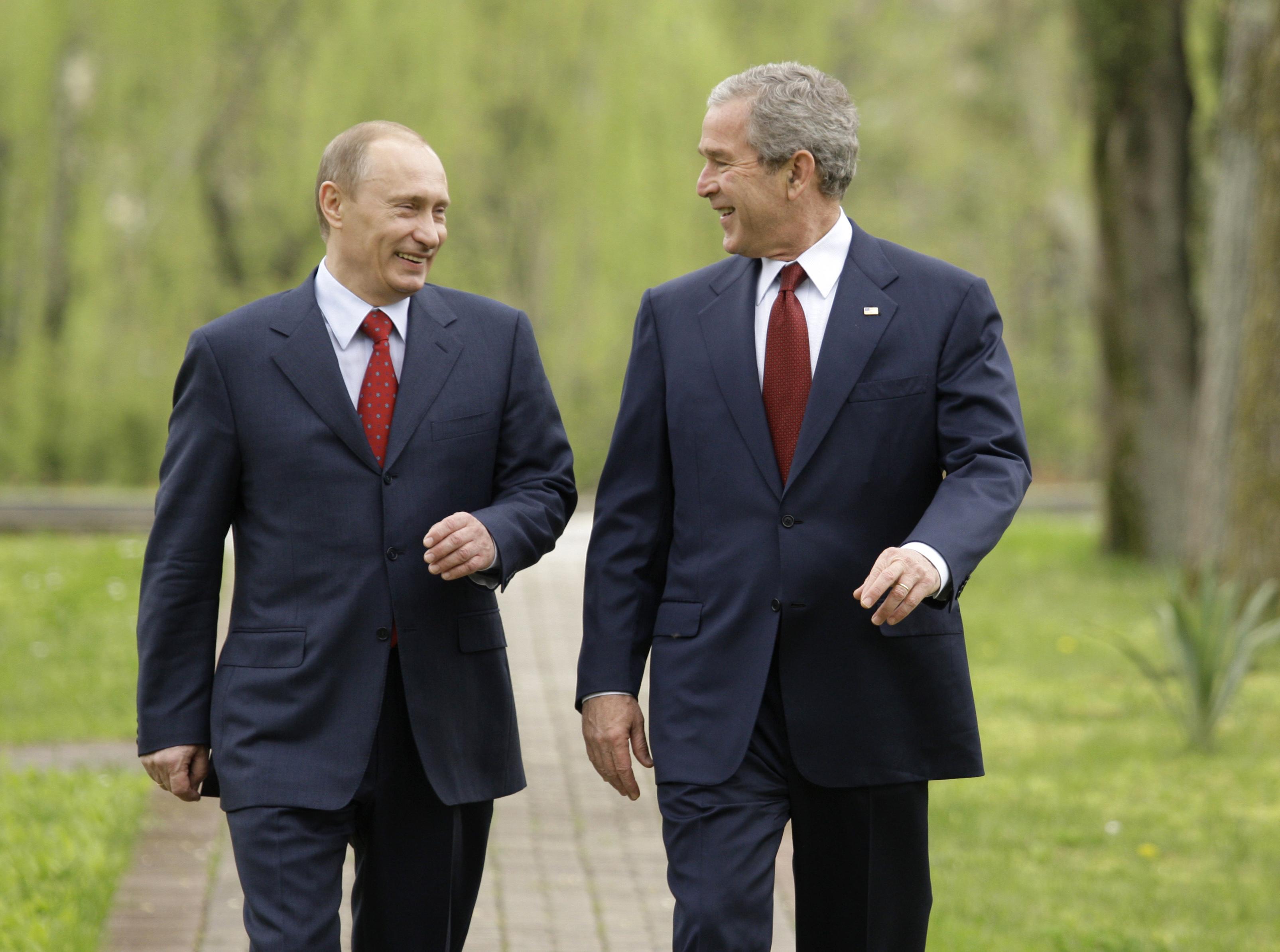 George W. Bush Was Tough on Russia? Give Me a Break.