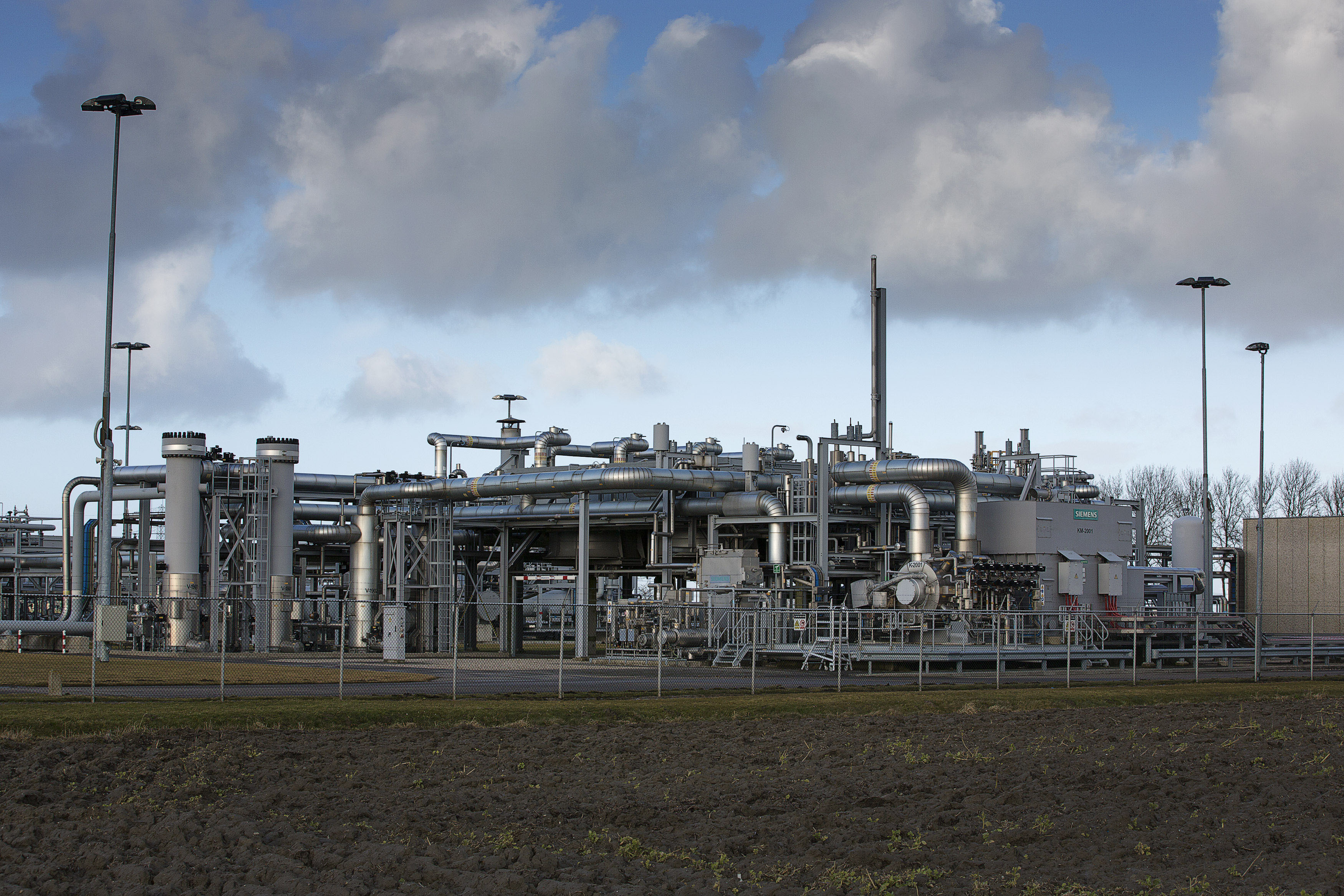 Natural Gas Production With Pressure Reduction