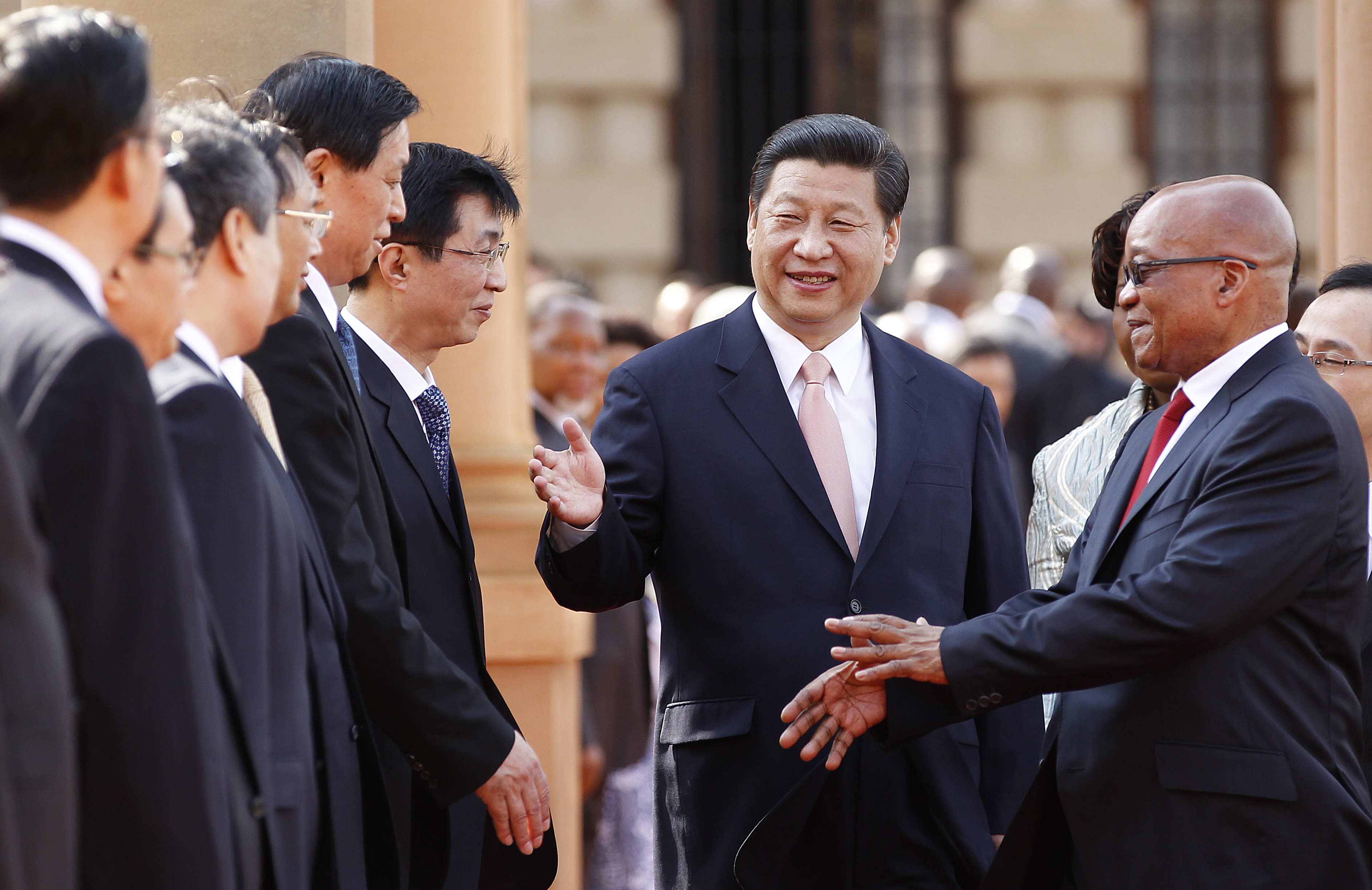The Us And China In Africa Competition Or Cooperation