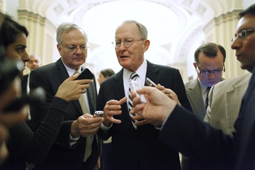 Senator Lamar Alexander, Chairman of the Senate Committee on Health