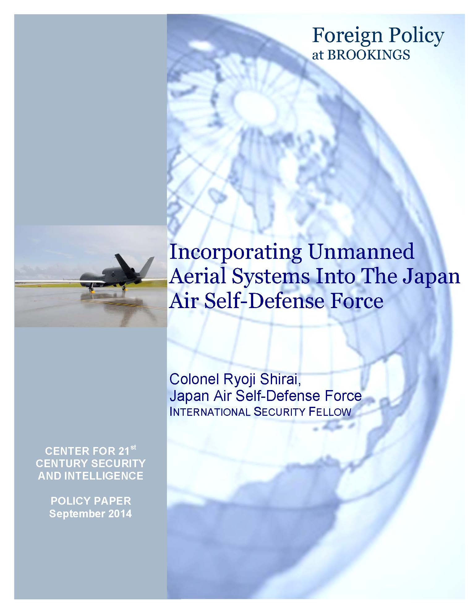 """is using unmanned aerial systems ethical? essay Essay about laws governing unmanned aircraft: a literature review 1245 words 