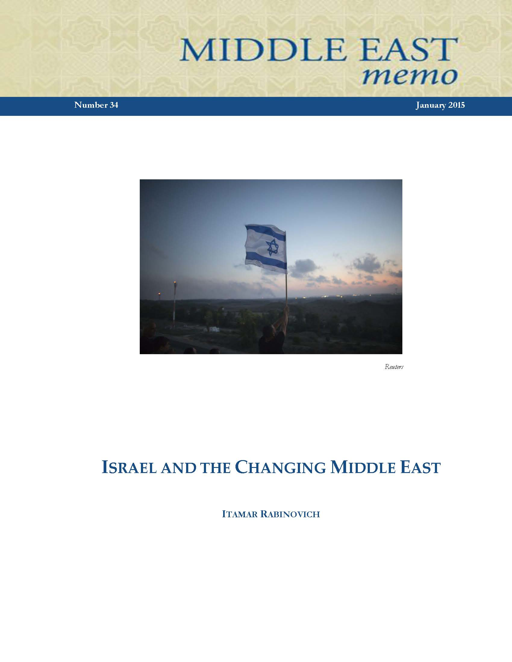 and the changing middle east pages from rabinovich 01292015