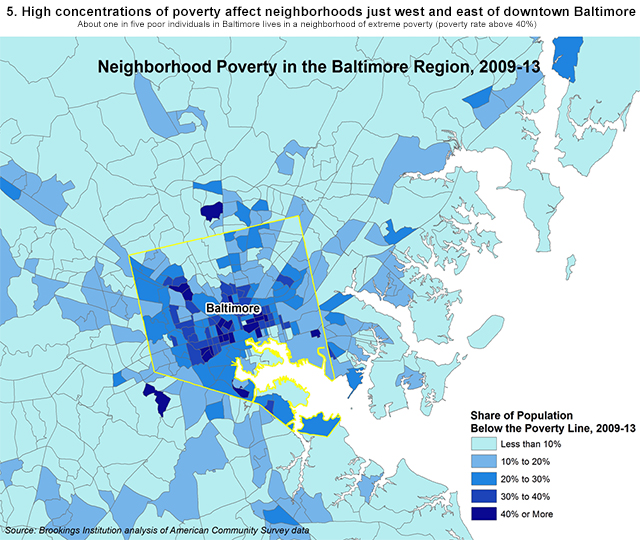 Good fortune dire poverty and inequality in Baltimore An American