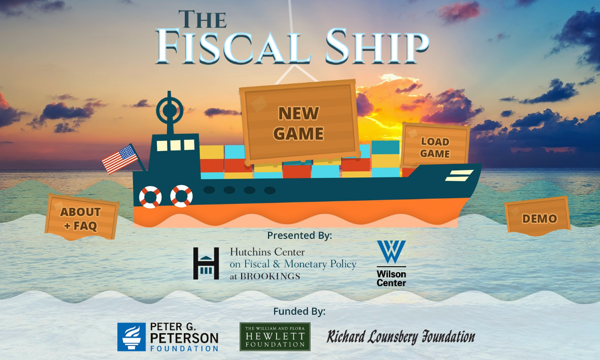 Updates to Fiscal Ship budget game let you keep or repeal