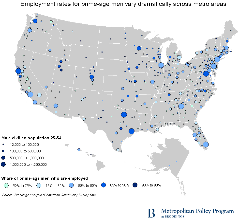 Prime Age Employment Map