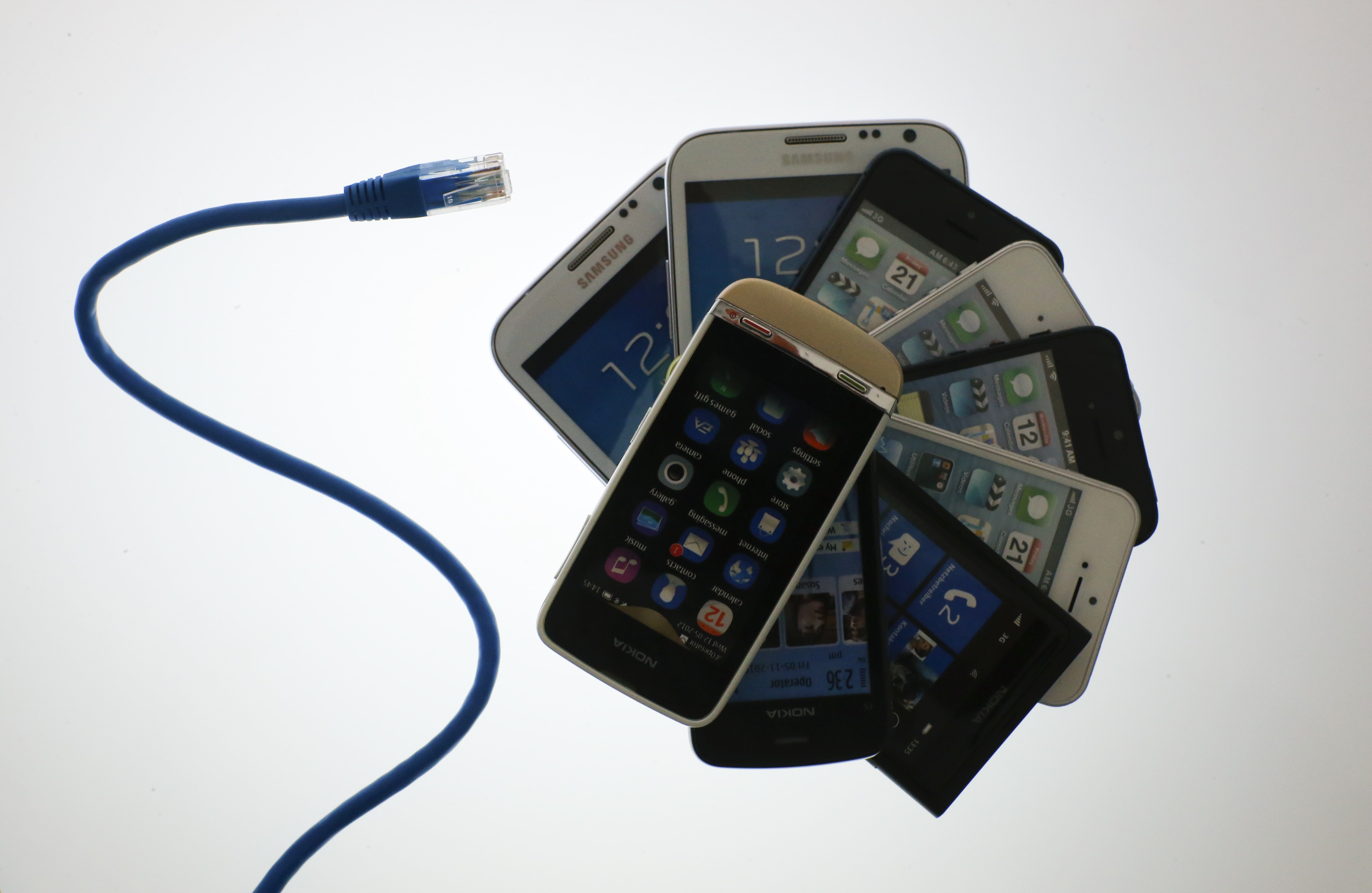 smart phone stack