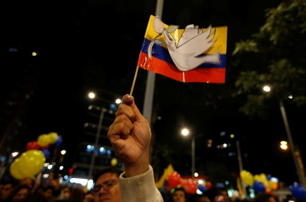Who pays for peace in Colombia?