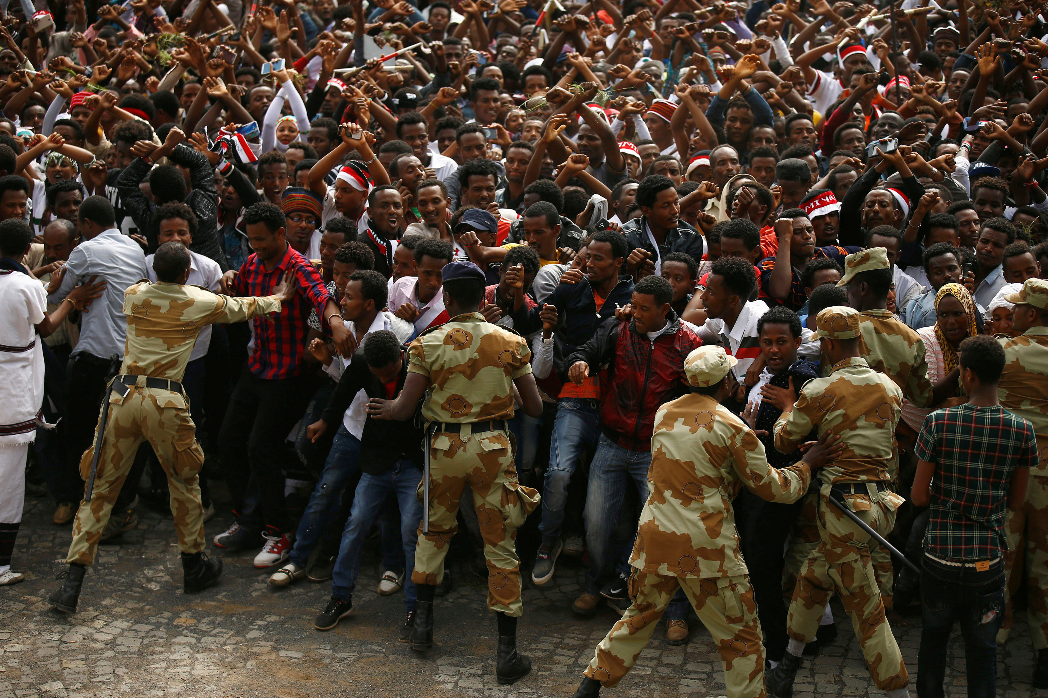 Africa in the news: Stampede reignites Ethiopia unrest, major gas