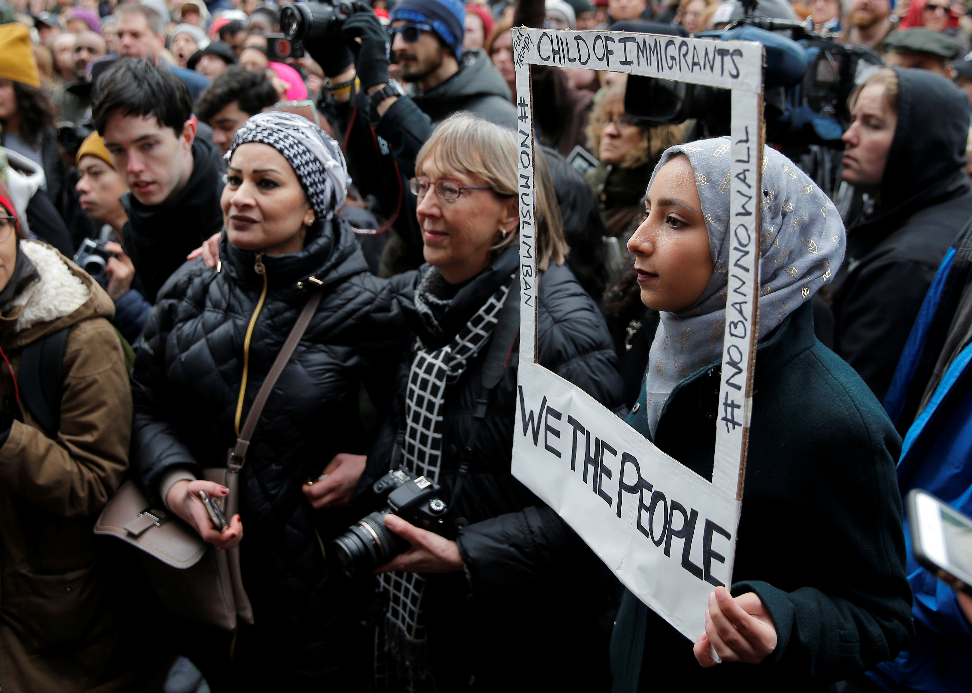 Protests of Muslims in the center of Moscow 47