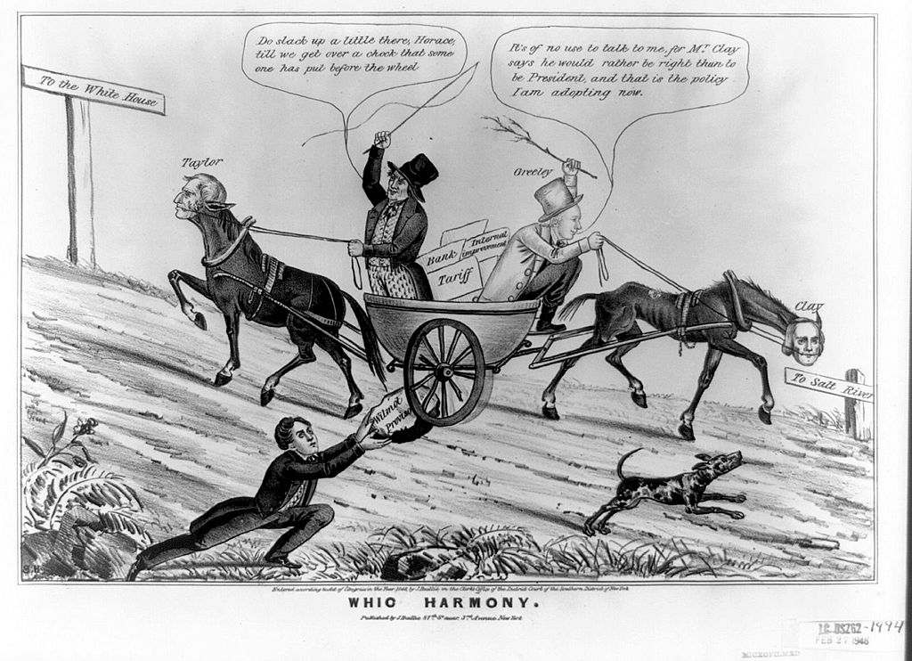 Prospects For Partisan Realignment Lessons From The Demise Of The Whigs