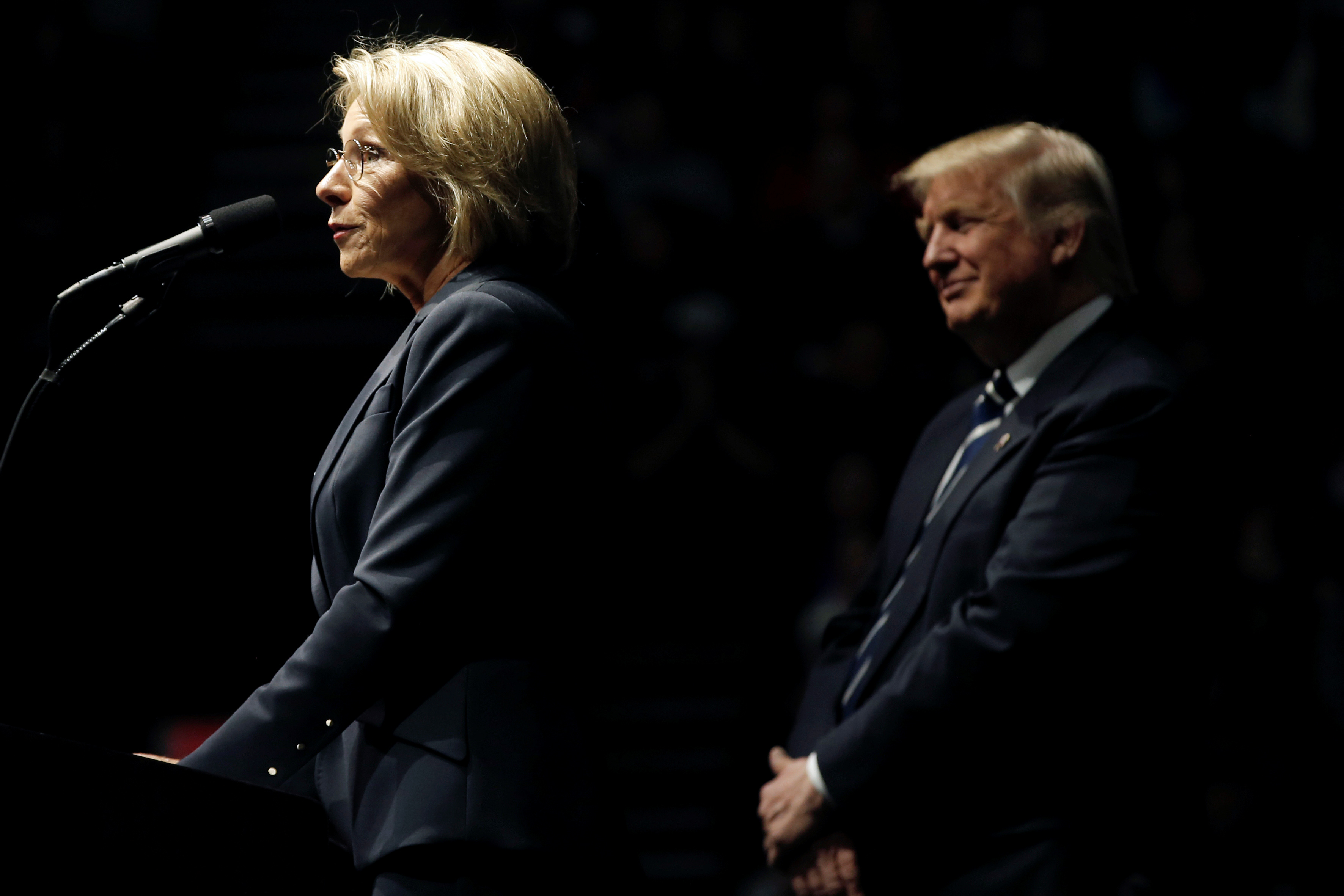 Trumps Education Pick Says Reform Can >> Donald Trump Betsy Devos And The Changing Politics Of Charter Schools