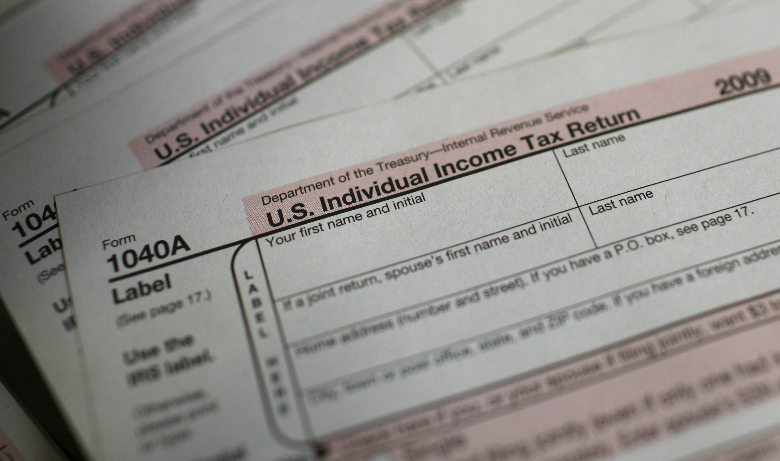 Its tax day and americans are mad as heck right wrong us 1040a individual income tax forms are seen at a us post office in new york falaconquin