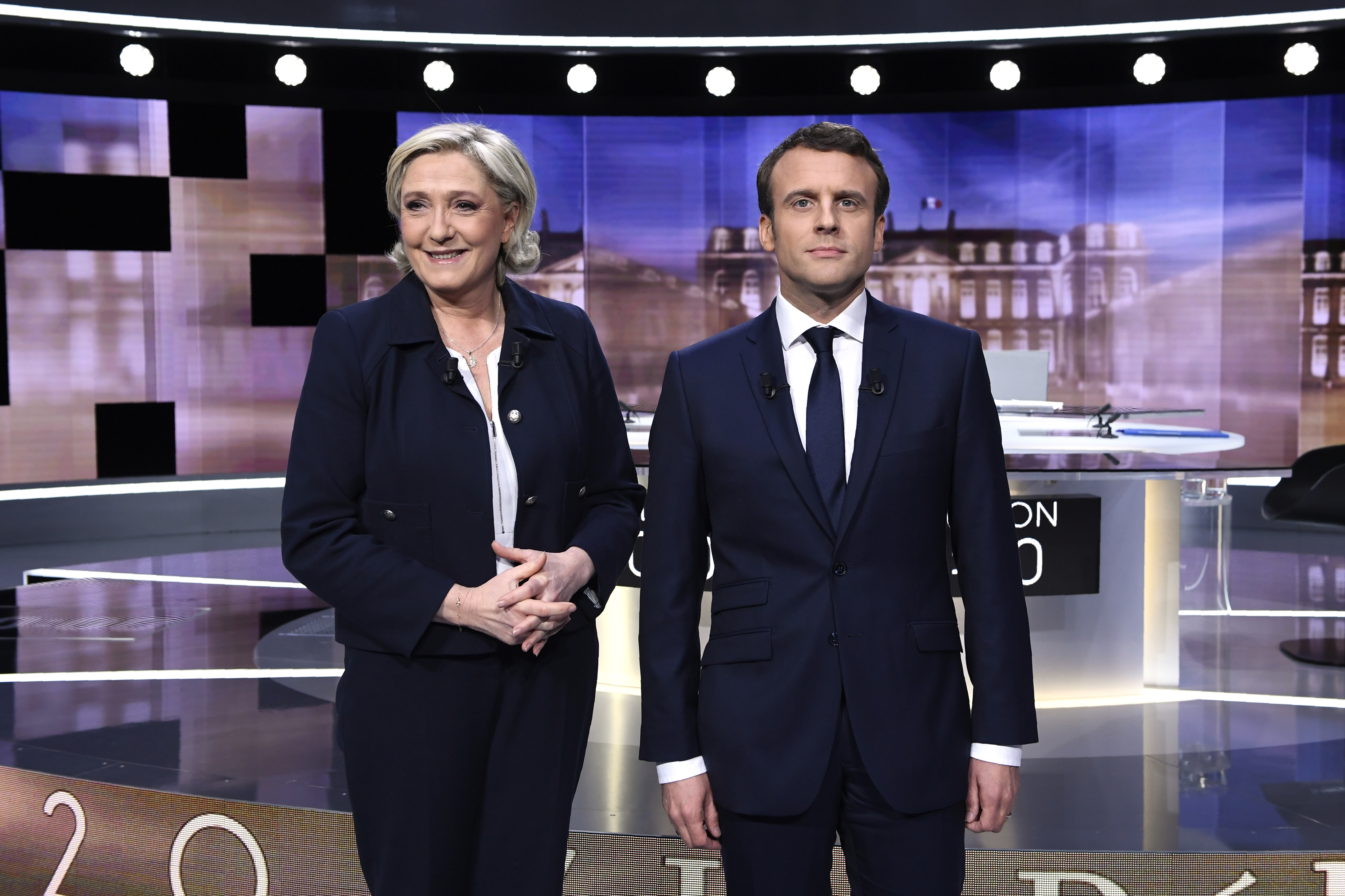 France elections 2017 live - A Bloody Final Debate Between Macron And Le Pen As France Heads Toward Election Runoff