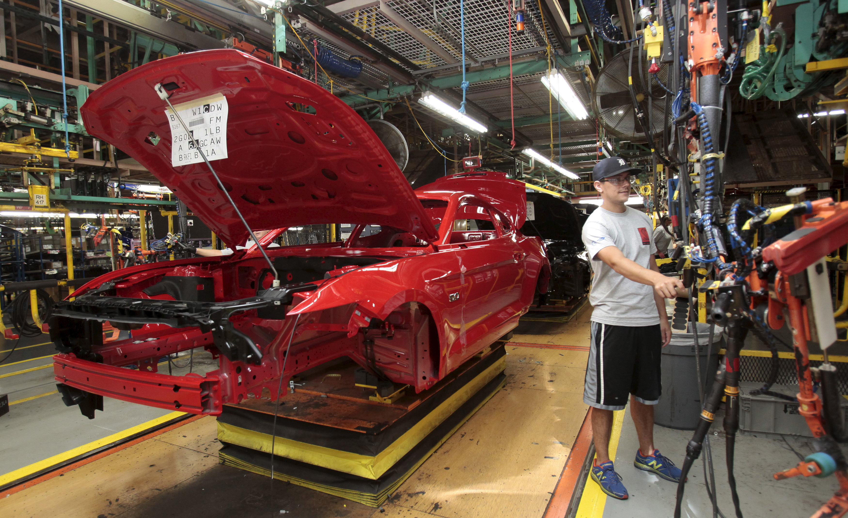 Auto slowdown flashes caution lights for manufacturing employment — and Trump