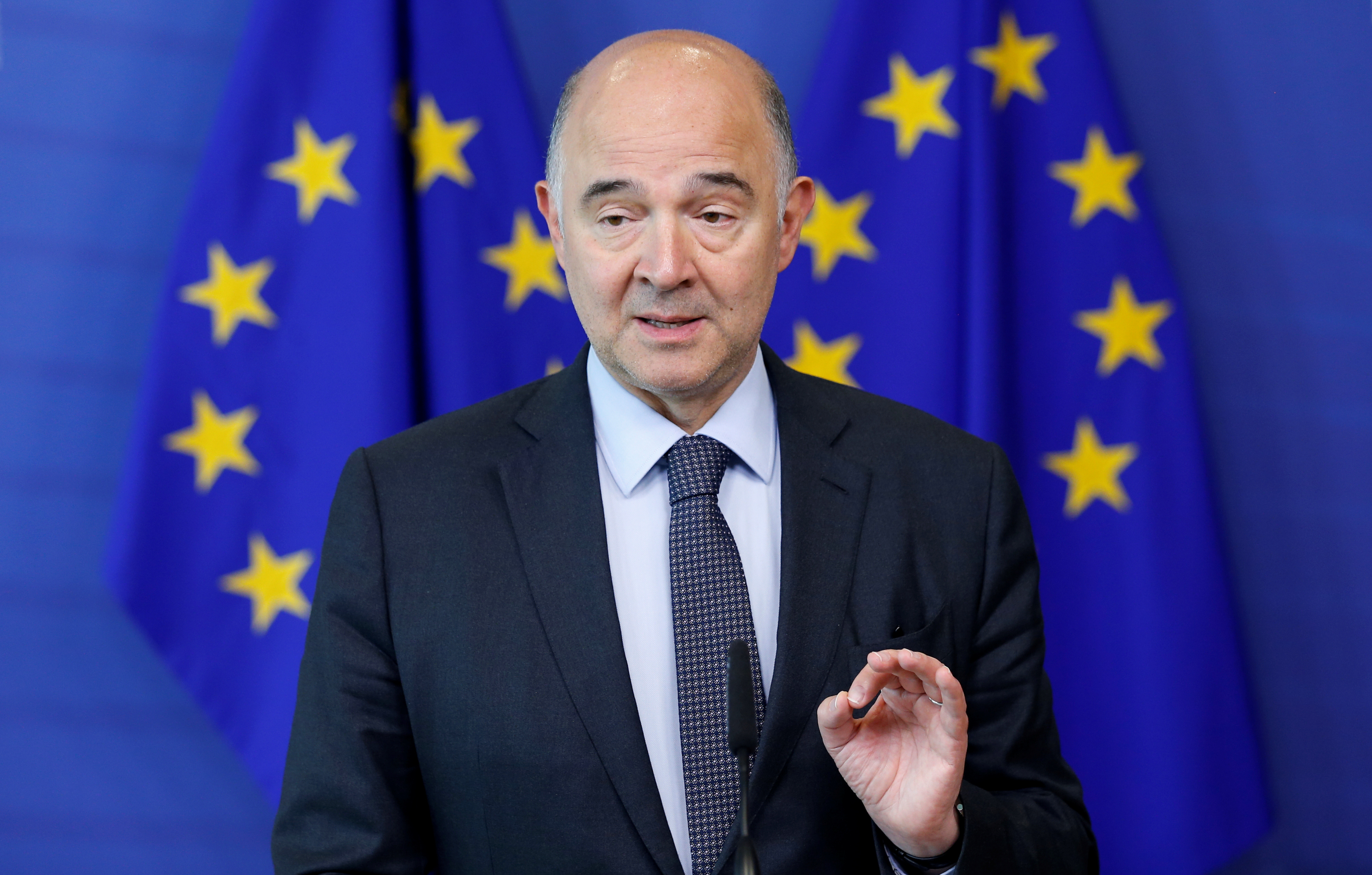 Risultati immagini per Pierre Moscovici
