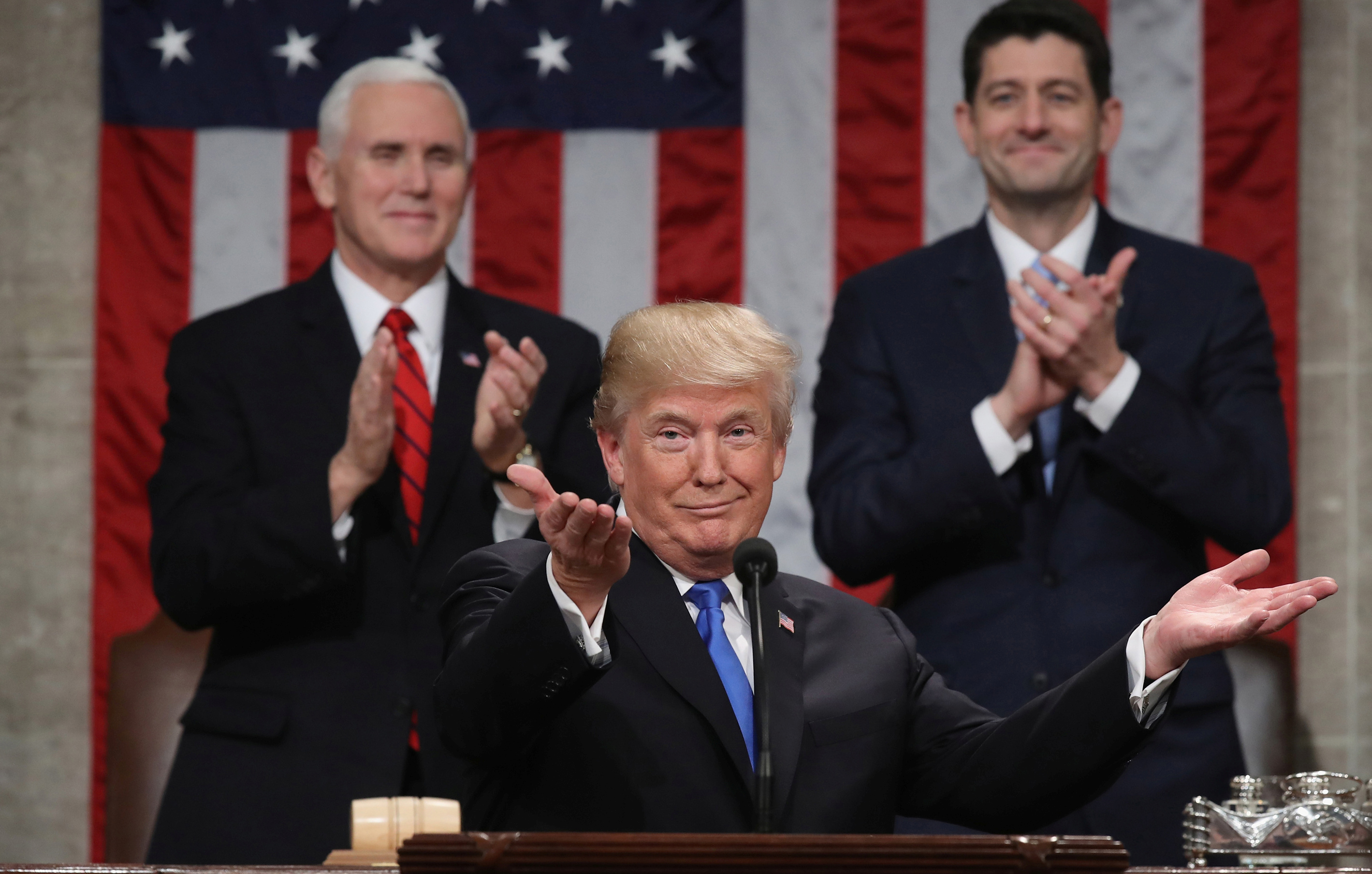 02905810c Brookings experts on Trump's first State of the Union