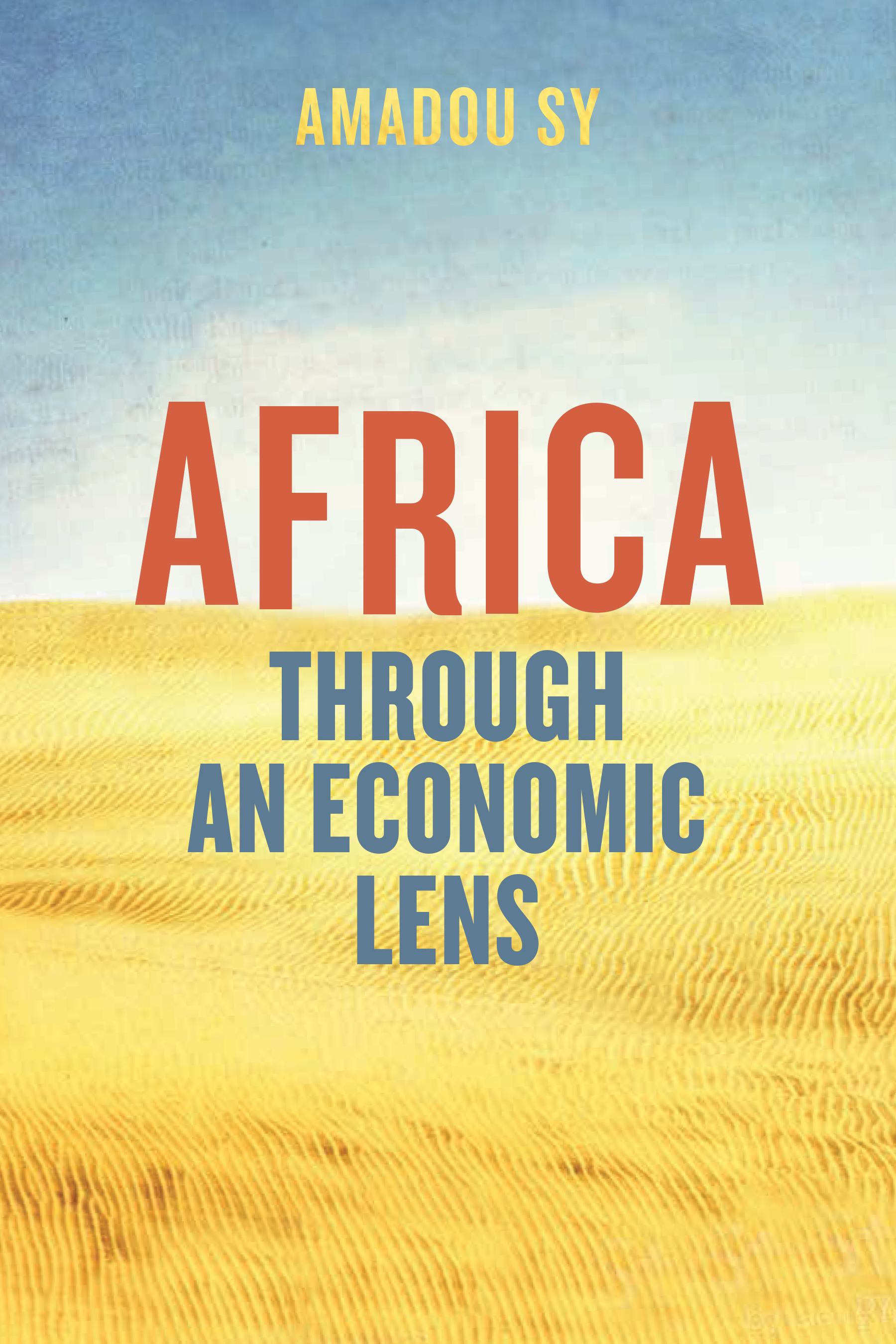 Cover for Africa through an Economic Lens