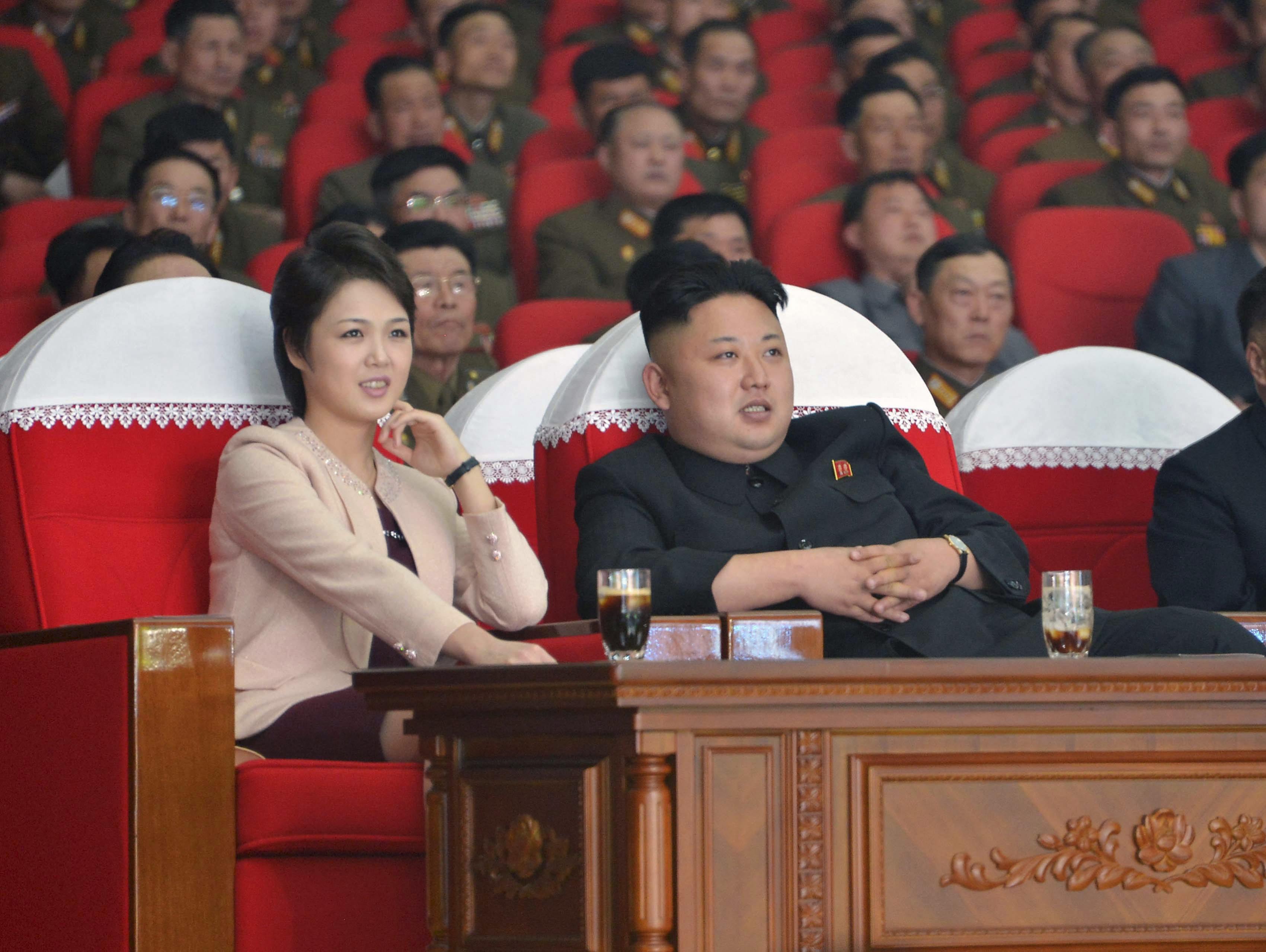 Kim jong un wife