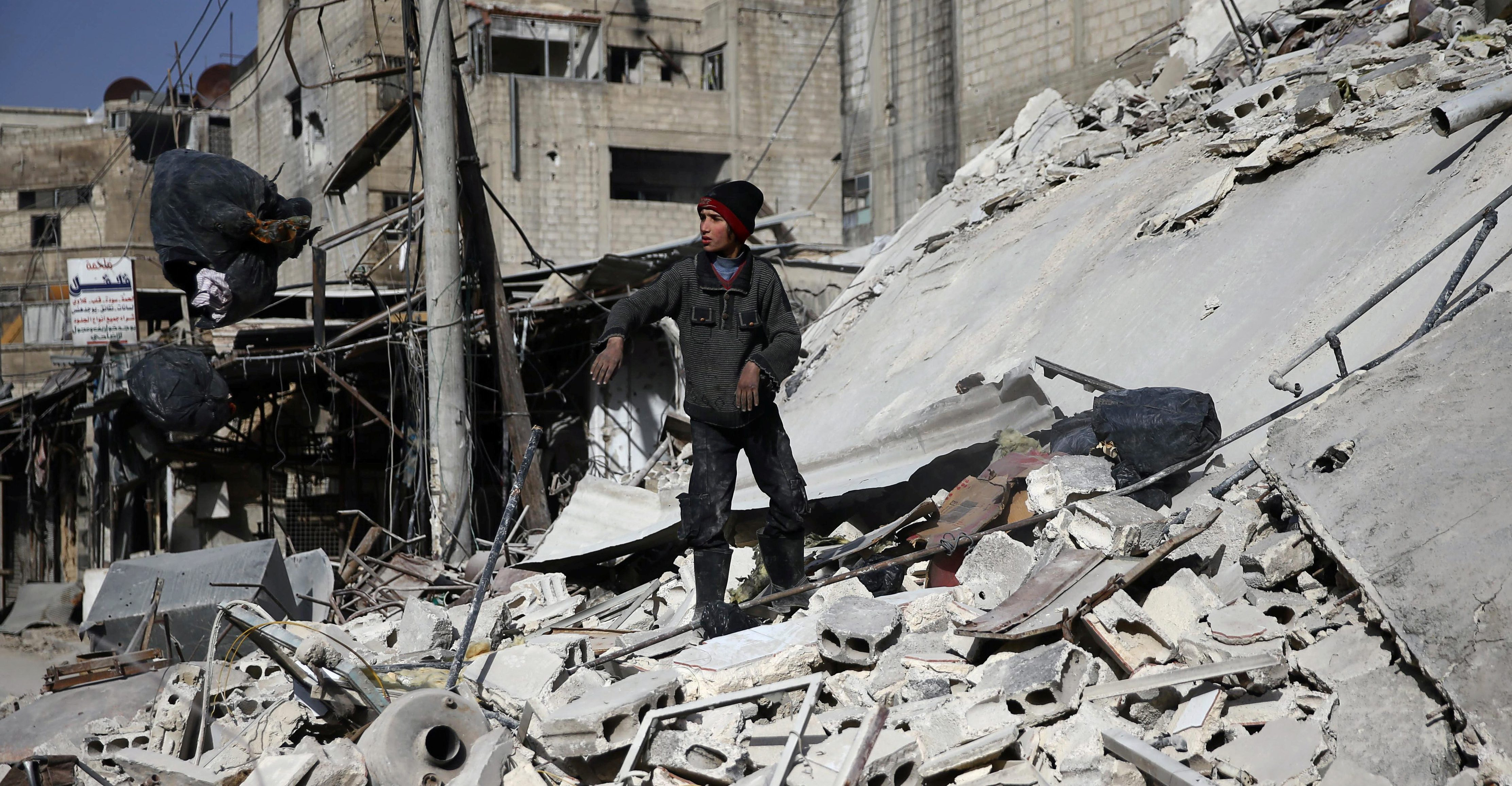Wanted: A strategy for stabilizing Syria