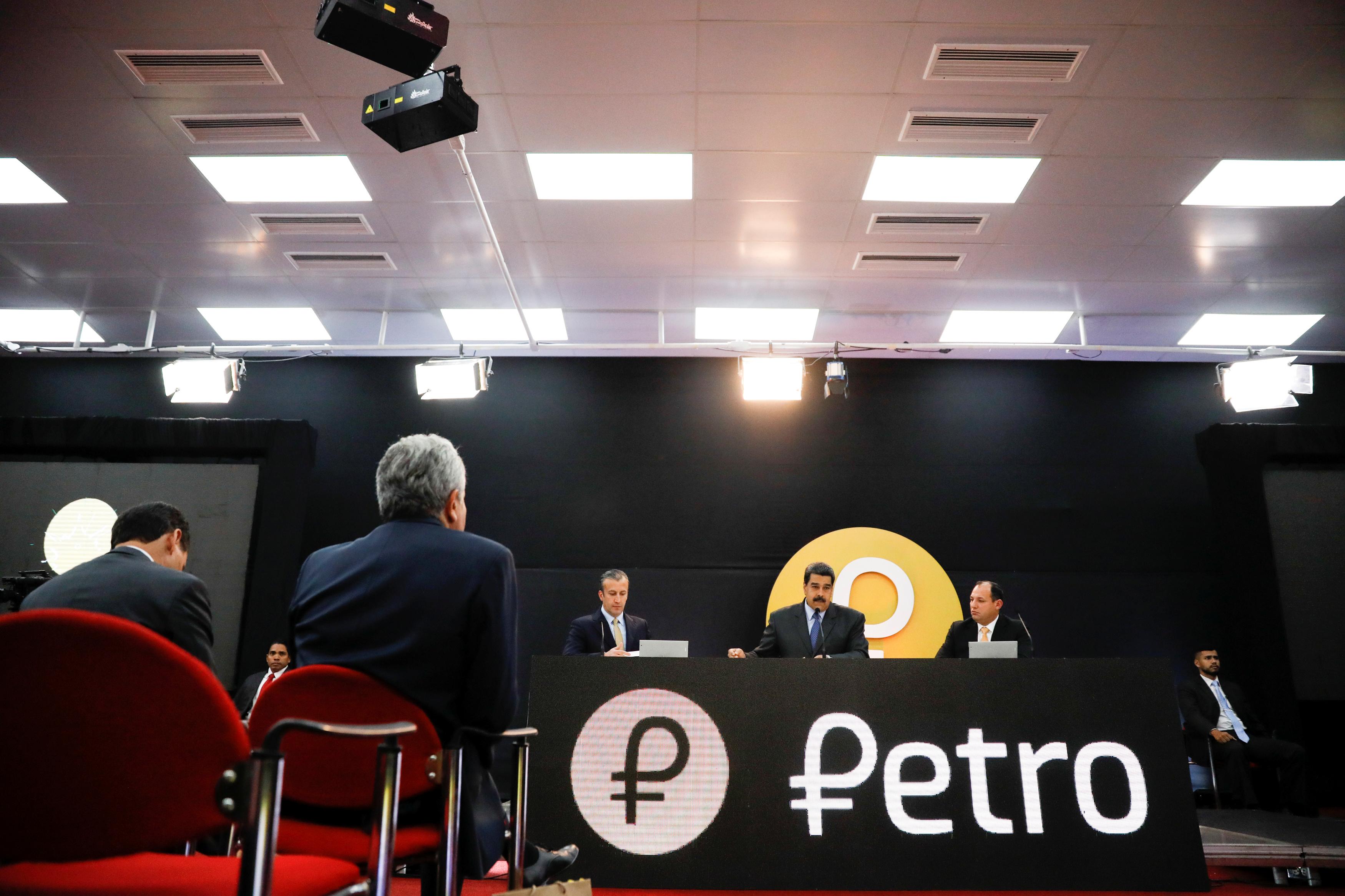 venezuela petro cryptocurrency price