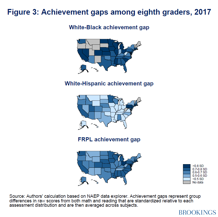 Falling Into Achievement Gap >> Have We Made Progress On Achievement Gaps Looking At Evidence From
