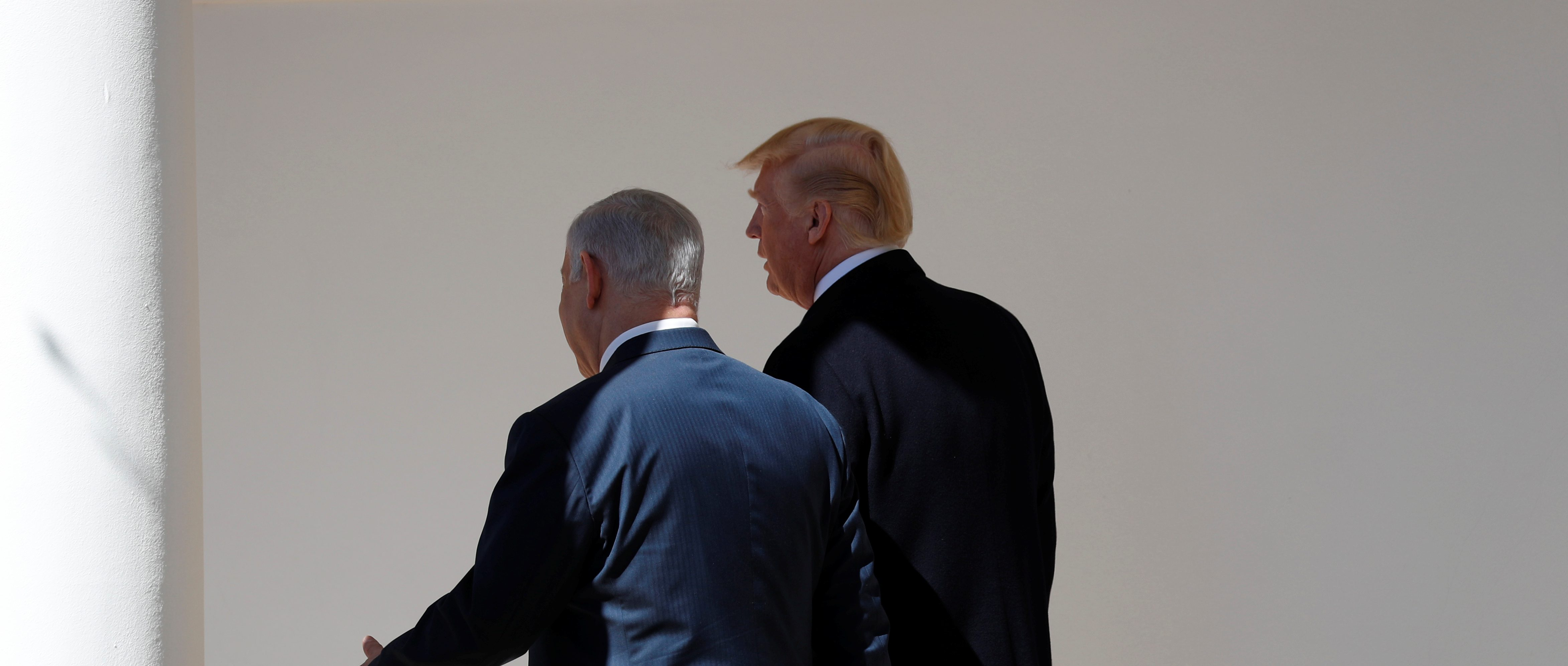 Israel and Trump are at odds on Syria