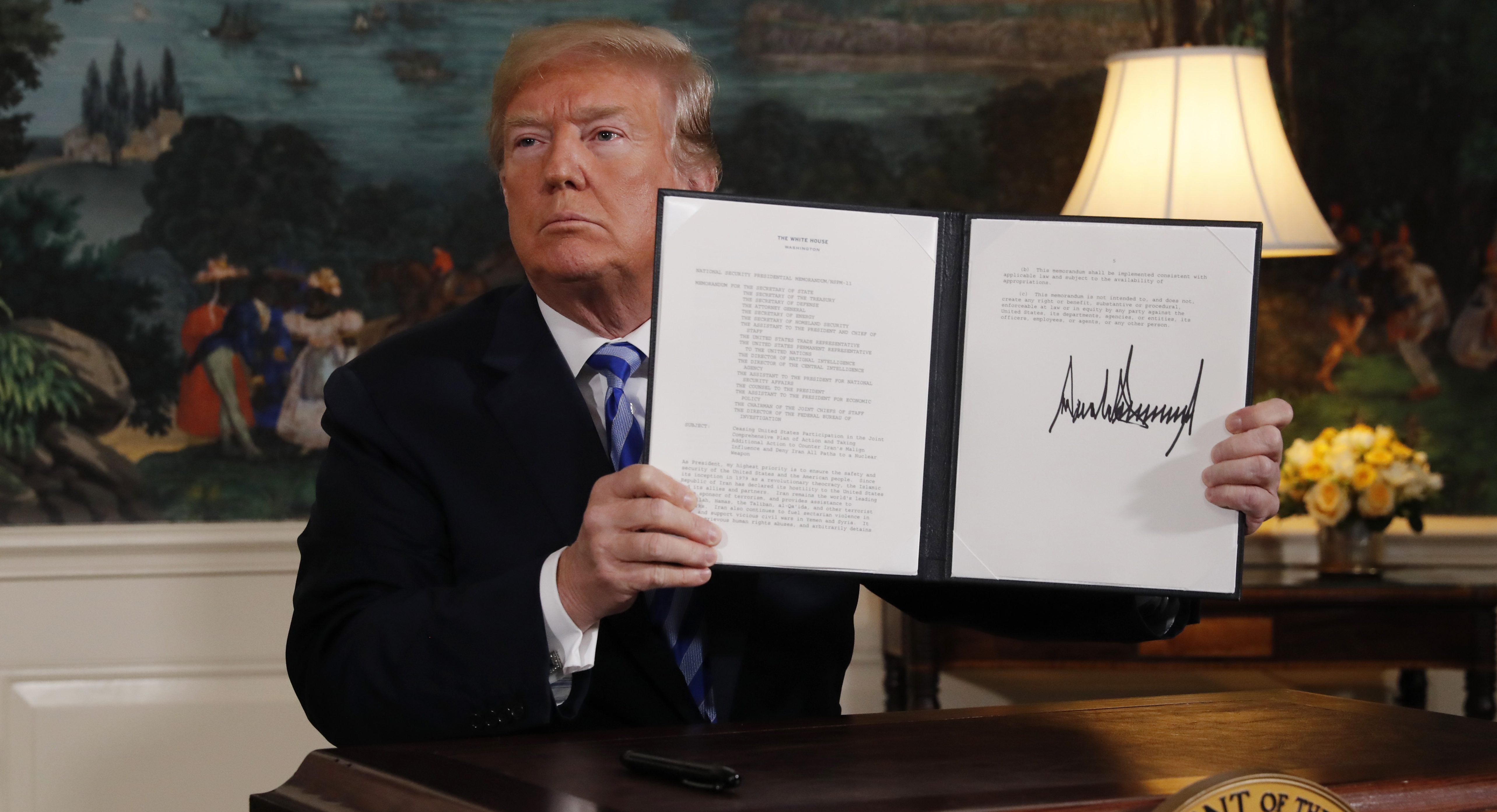 After dumping the nuclear deal, Trump has no strategy for Iran