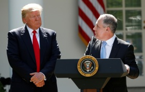 One year since Trump's withdrawal from the Paris climate agreement
