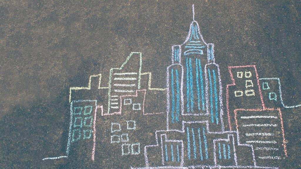 City drawing