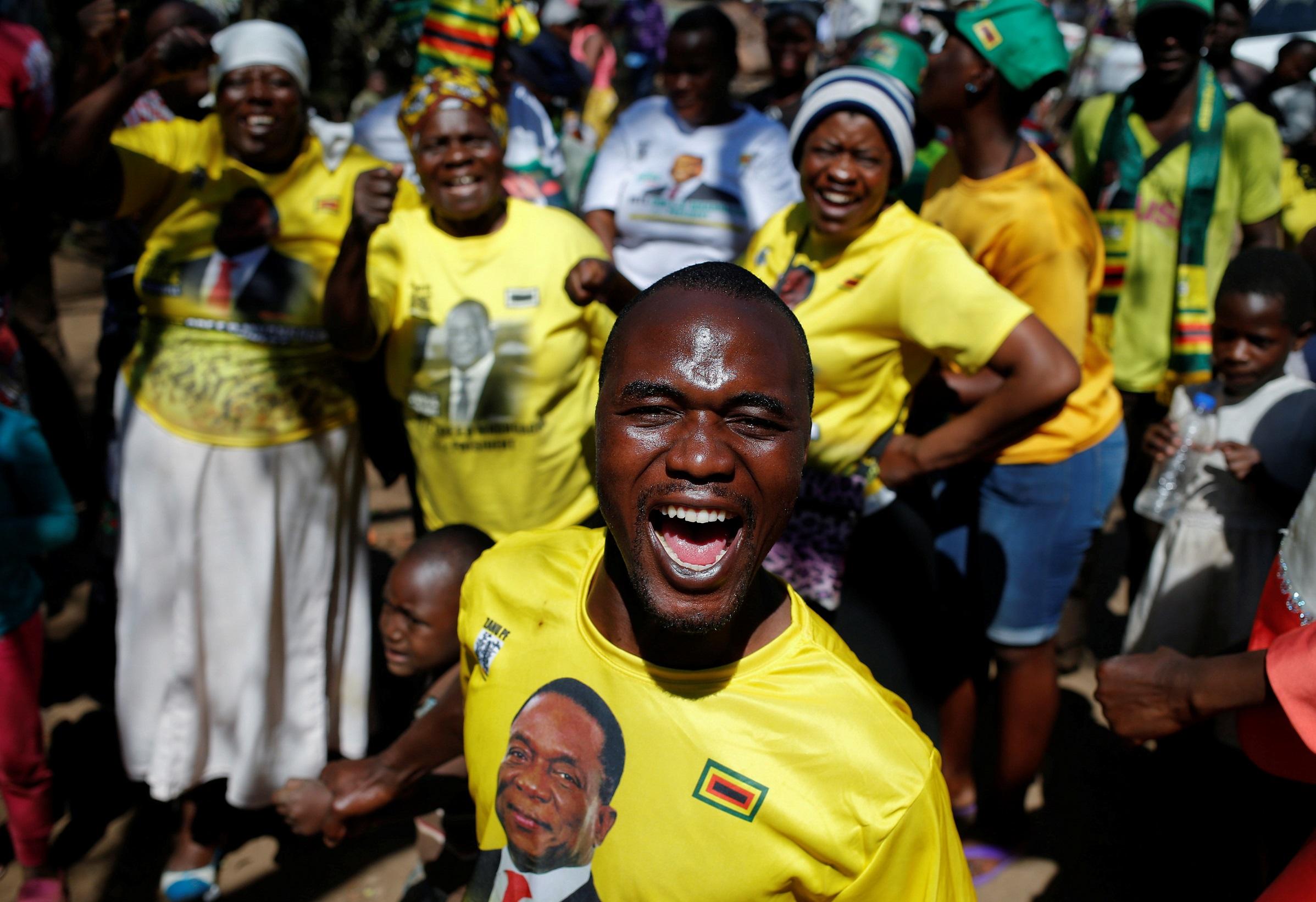 Zimbabwes ruling party ZANU-PF claims majority seats in parliamentary polls
