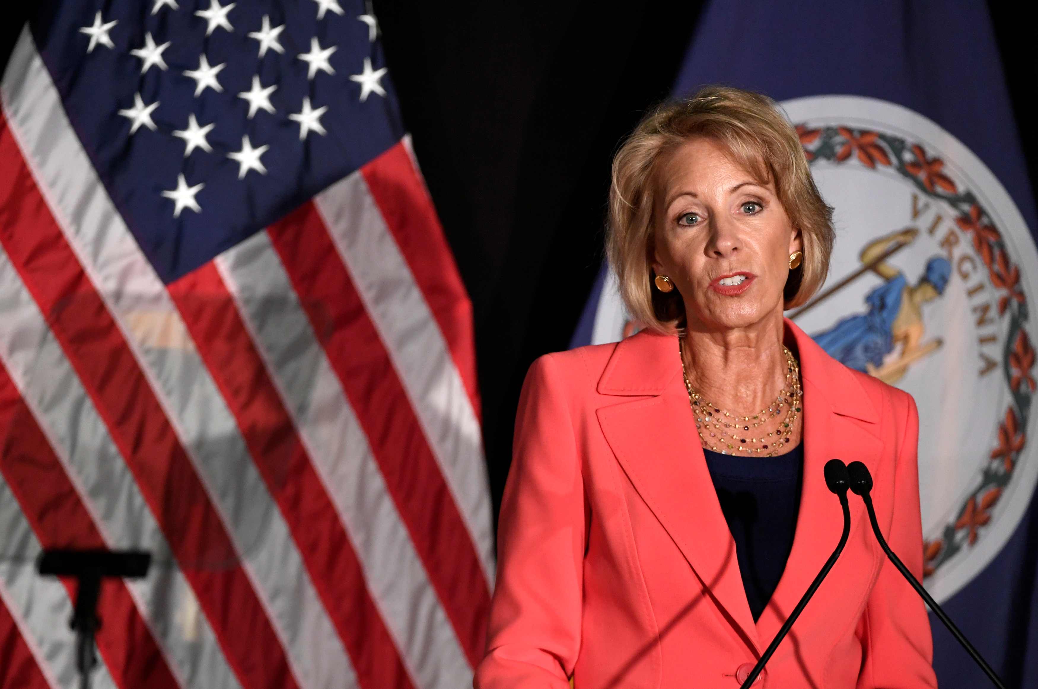 The Department of Education's proposed sexual harassment rules