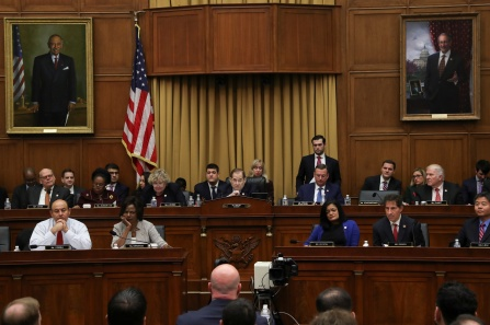 Acting U.S. Attorney General Matthew Whitaker testifying before House Judiciary Committee