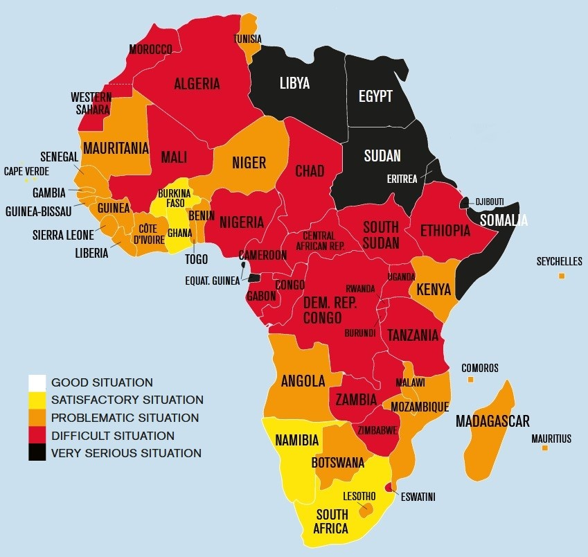 Figure of the week: Press freedom in Africa