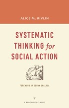 Cover: Systematic Thinking for Social Action